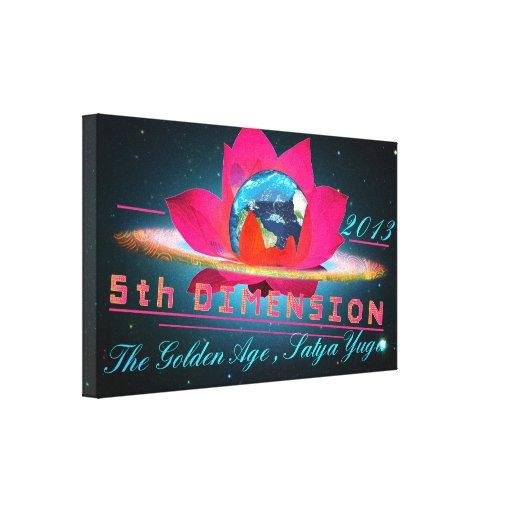 5a dimensão - canvas impressão de canvas envolvida