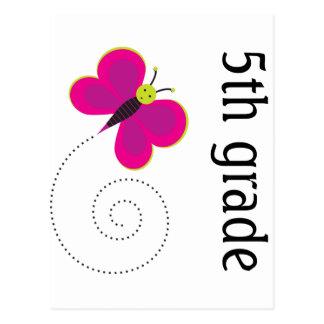 5o cartão bonito da categoria