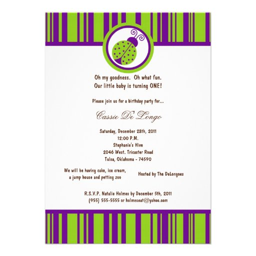 5x7 a festa de aniversário verde elétrica da senho convite personalizados