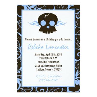 5x7 convidam - o convite do aniversário do Roc do