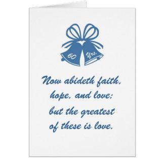 60 anos de amor cartão