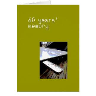 60 anos de cartão