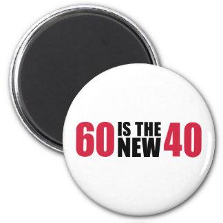 60 são o aniversário 40 novo imã