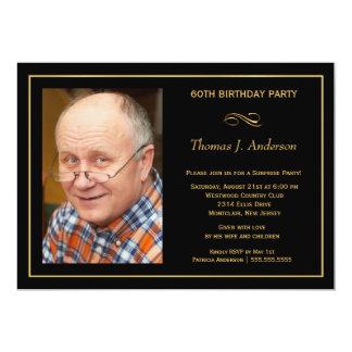 60th convites de festas de aniversários - adicione