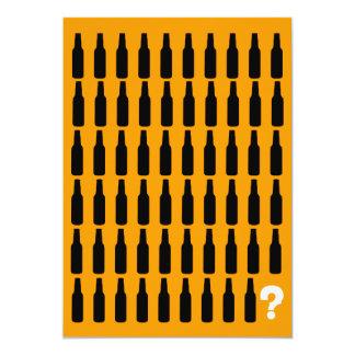 60th Convites do aniversário - elogios da cerveja!