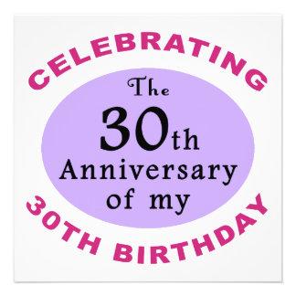 60th presentes engraçados da mordaça do aniversári convites