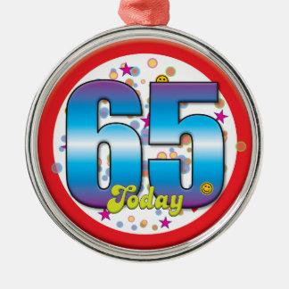 65th Aniversário hoje v2 Enfeites
