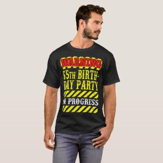 65th camisa de advertência da carga do progresso