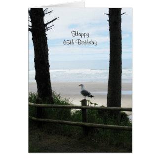 65th Cartões de aniversário