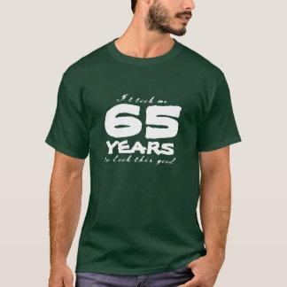 65th Número customizável do ano da camisa | do