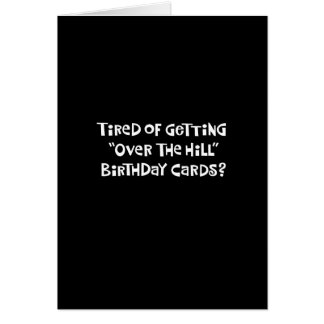 66th Cartão engraçado do monte do aniversário