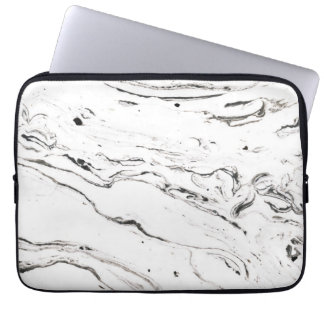 6 pés sob as bolsas de laptop de mármore 13inch capa para computador