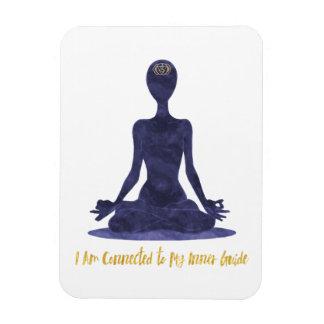 6o Afirmação de Anja do terceiro olho de Chakra Ímã
