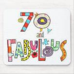 70 anos de aniversário fabuloso velho