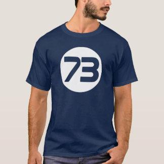 73 a melhor camisa de Big Bang Sheldon t do número