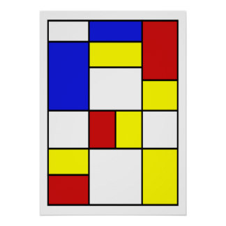 #756 abstrato pôster