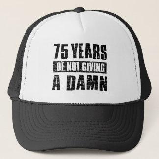 75 anos boné
