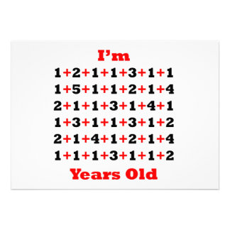 75 anos de vermelho velho do preto convite personalizado