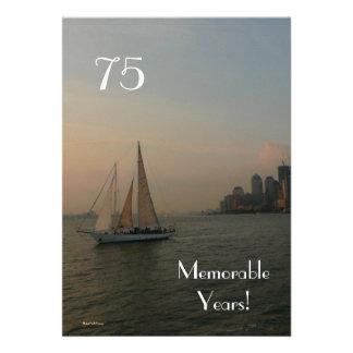 75 anos memoráveis Aniversário