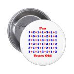 75 anos velho! botons