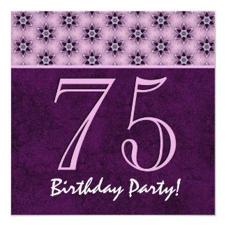 75th Aniversário ou algum teste padrão roxo V03 do
