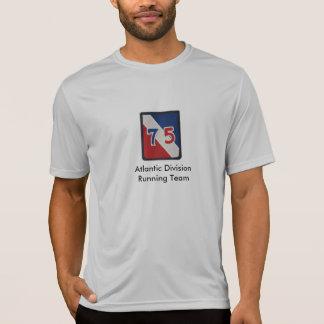 75th Camisa Running da equipe da divisão atlântica