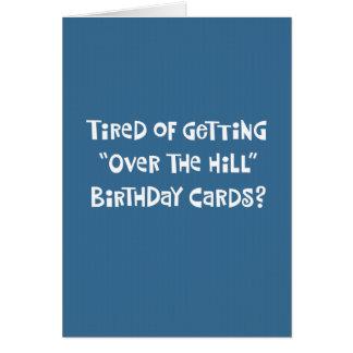 75th cartão engraçado do aniversário