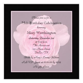 75th convite de aniversário - aumentou para o 75th