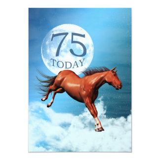 75th convite de festas do cavalo do espírito do