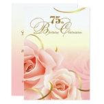 75th Convites do costume da celebração do
