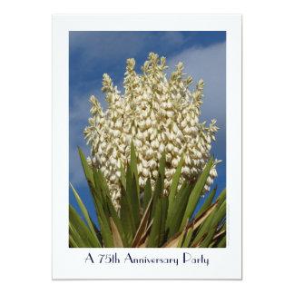 75th Mandioca de florescência do convite da festa