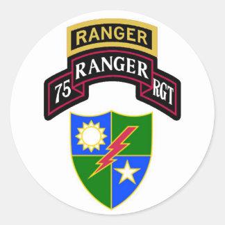 75th Rolo do regimento de guarda florestal da Adesivo