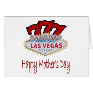 777 Las Vegas, cartão feliz do dia das mães