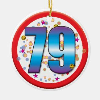 79.o Aniversário v2 Enfeites