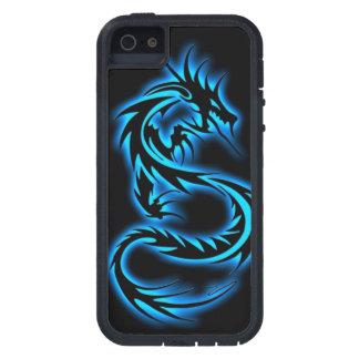 7 caixa azul do iPhone 5 do dragão da série dos Capa Para iPhone 5
