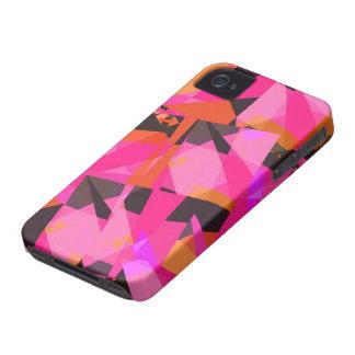 #7 cor-de-rosa - capa de iphone 4 capa para iPhone 4 Case-Mate