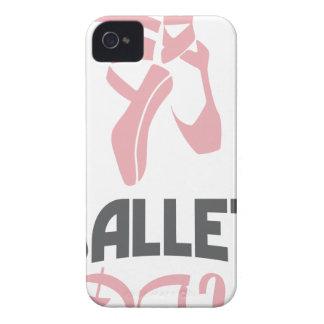 7 de fevereiro - dia do balé - dia da apreciação capas para iPhone 4 Case-Mate