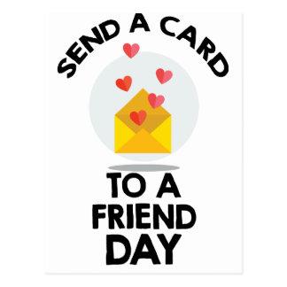 7 de fevereiro - envie um cartão a um dia do amigo