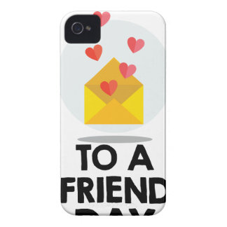 7 de fevereiro - envie um cartão a um dia do amigo capinhas iPhone 4