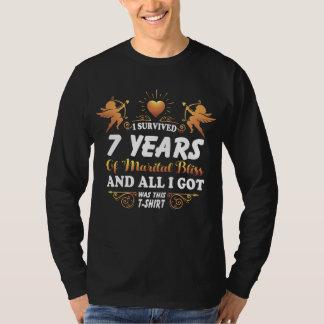 7o Camisa do aniversário para a esposa do marido