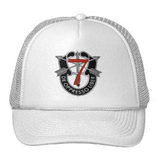 7o Crista do grupo das forças especiais Boné