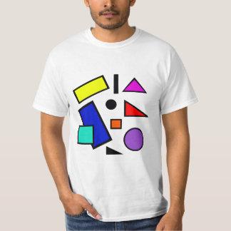 80s retro dá forma à camisa de T