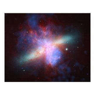 82 composto mais messier da galáxia M82 do charuto Impressão De Fotos