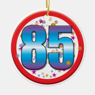 85th Aniversário v2 Enfeites Para Arvore De Natal