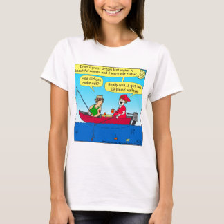 870 como você fez para fora a pesca de desenhos camiseta