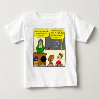 893 centímetros de jogo em desenhos animados da camiseta para bebê