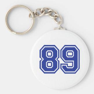 89 - número chaveiro