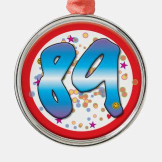 89th Aniversário Enfeites
