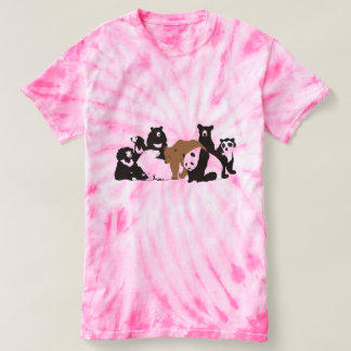 8 ursos para sempre camiseta