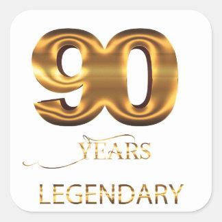 90 anos de etiqueta legendária